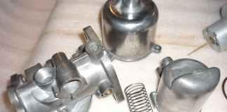 Polished SU HS4 Carburetor Parts