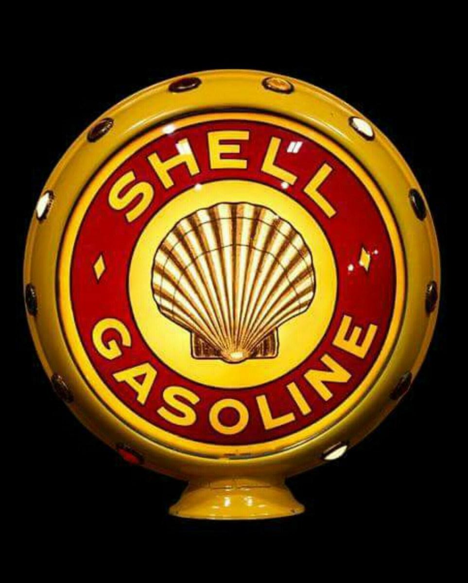 Vintage Gas Pump Globes