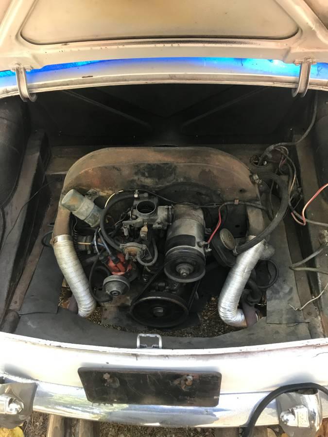 WTF Craigslist 1963 MGB VW engine