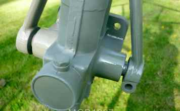 2 coats of primer MGB Armstrong lever shock