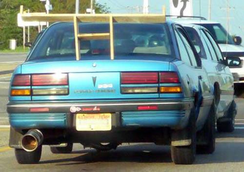 Home Depot rear car spoiler