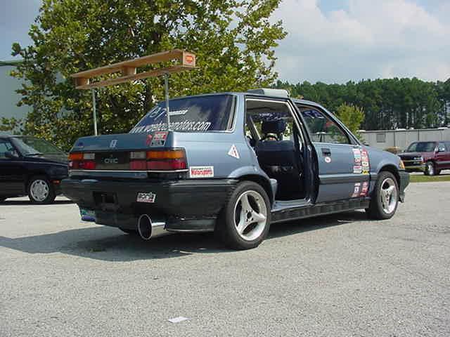 Stupid looking Honda Civic