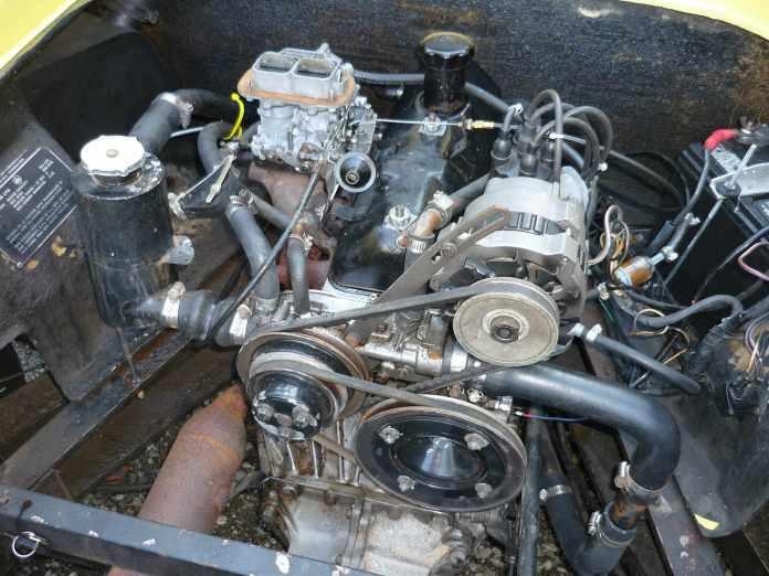 Lotus Europa Renault engine