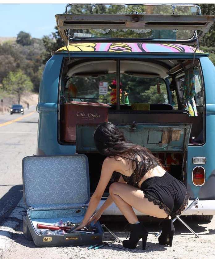 VW Van babe