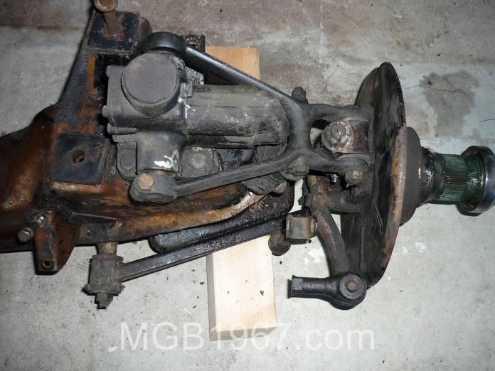 Ratty MGB GT suspension