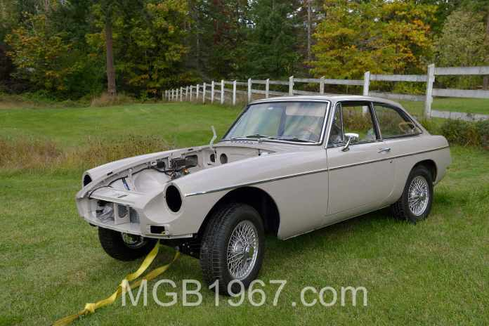 Towing an engineless MGB