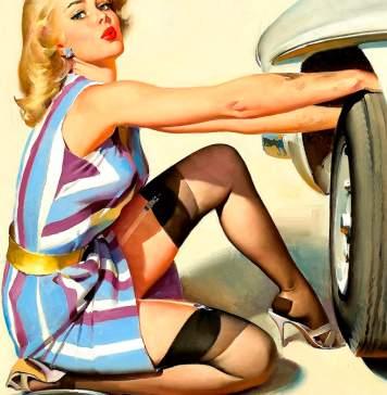 Fixing a Flat Pinup Girl