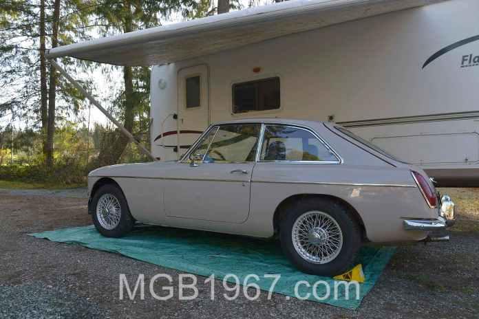 1967 MGB GT slut