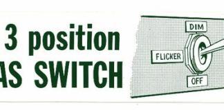 3 Position Lucas Light Switch