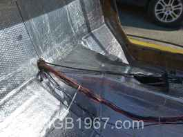 Noico 80 mil car sound deadening mat in Lotus Europa