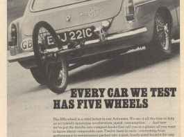 Every Car We Test Has Five Wheels MGB GT