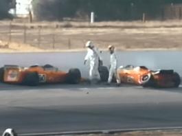 Mario Andretti and Art Pollard - Lotus 56 Turbine