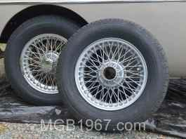 Dupli-Color Hyper Silver MGB wheel paint