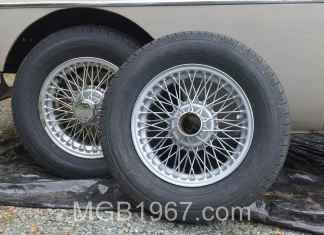 Dupli-Color Hyper Silver MGB wheel paint