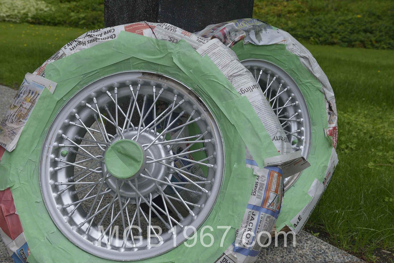 Dupli-Color Hyper Silver paint