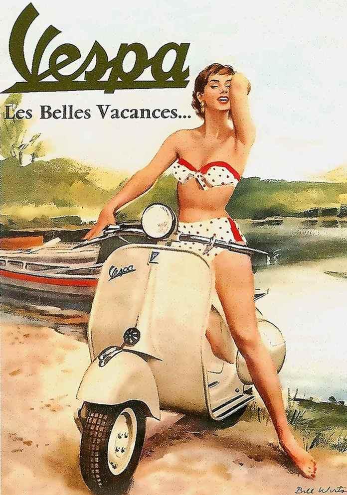 Vespa - Les Belles Vacances...
