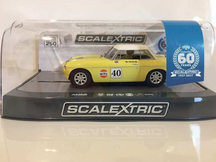 Scalextric Special Edition MGB Thoroughbred Sports CarScalextric Special Edition MGB Thoroughbred Sports Car
