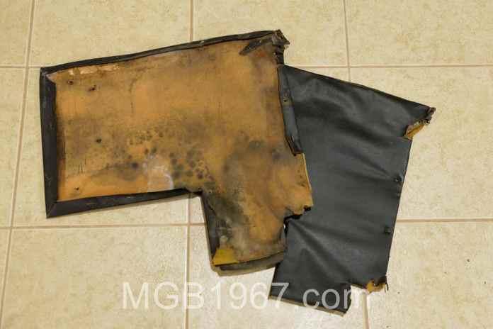 Warped MGB interior panel
