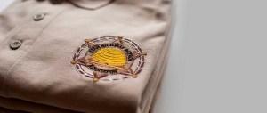 Custom Embroidered Logo on Pique Sport Shirt