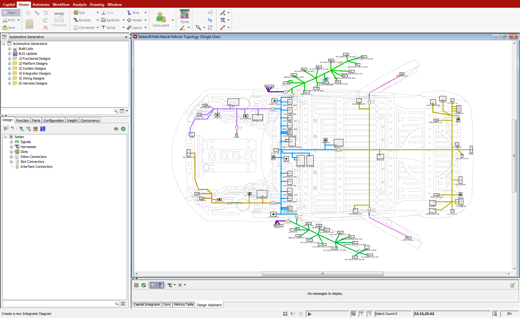 small resolution of capital integrator