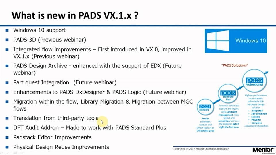 Is it time to upgrade PADS Suites? - Mentor Graphics