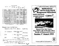 2003-08-03-nsw-state-rnd-7-hillclimb-ringwood-results