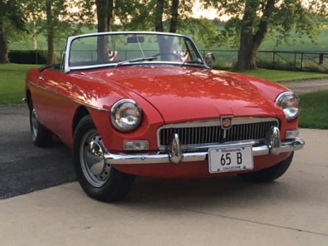 '65 B roadster of John Winter from Rochester, Minnesota.