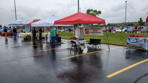 2019 Chicagoland British Car Festival - AMGBA Tent