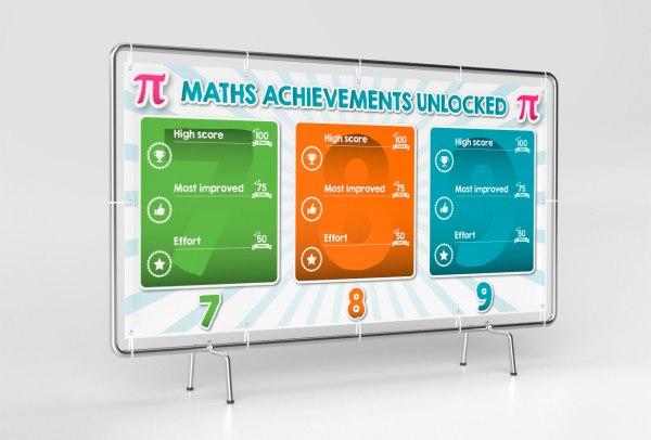 Math Achievements Infographic - Mg Designer Studio