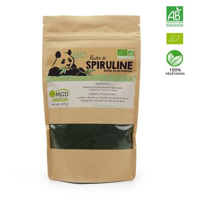 Spiruline Bio (poudre)