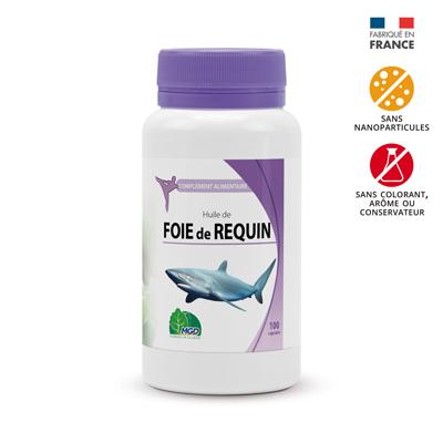 Huile de foie de requin