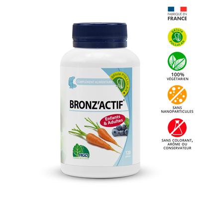 Bronz'Actif 120 gélules pullulan_MGD Nature