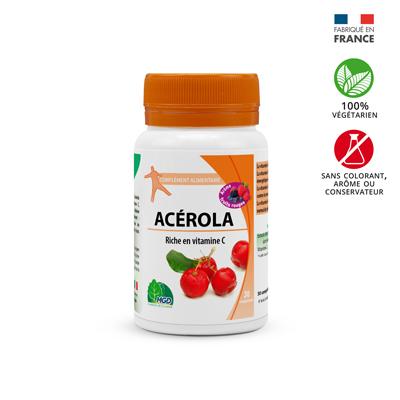 complément alicomplément alimentaire Acérola arome fruits rougesmentaire Acérola arome citron