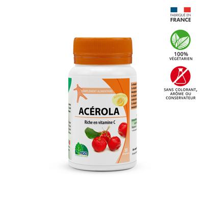 complément alimentaire Acérola arome citron