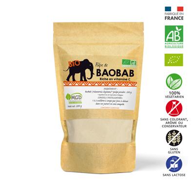 Complément alimentaire baobab bio poudre