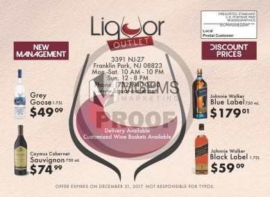 Liquor Outlet Mailer (Front)