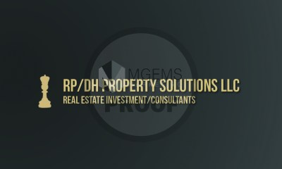 RP/DH Property Solutions LLC Business Card (Front)