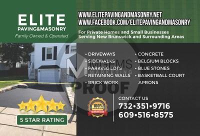 Elite Paving and Masonry (Front)