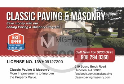 Classic Paving and Masonry (Front