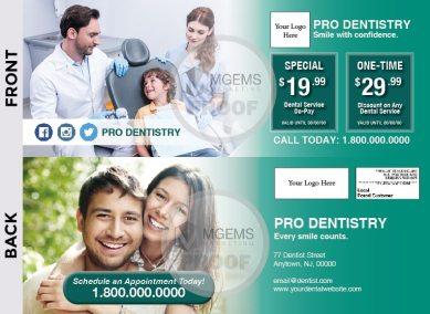 4.5x12 Dentist Postcard 001