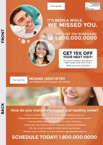 9x12 Dentist Postcard 001