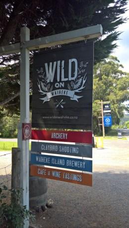Wild on Waiheke is fun!