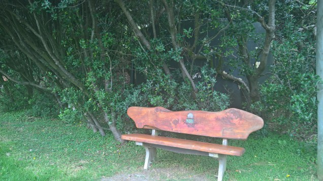 benches are conveniently everywhere on the island for a rest when walking