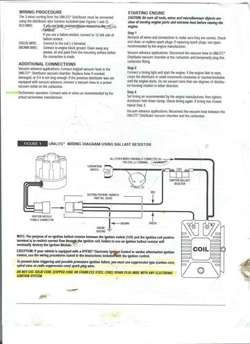 Tachometer Compatibility With Mallory Electronic Ignition : MGB & GT Forum  : MG Experience Forums : The MG Experience