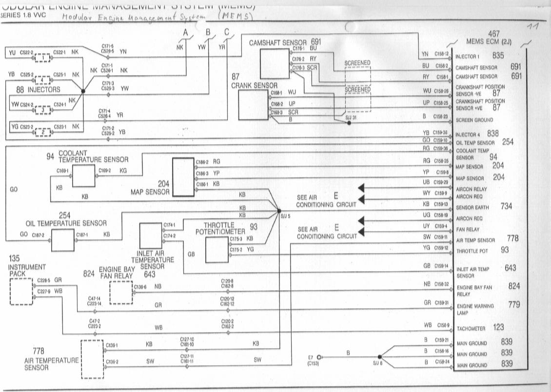 mg tf electrical wiring diagram honeywell mgf schaltbilder inhalt diagrams of the rover