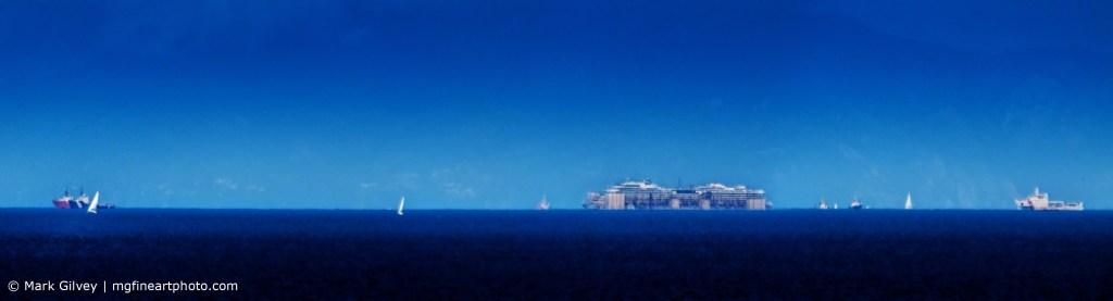 Costa Concordia Returns To Port