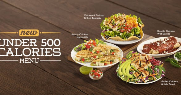 Image result for chilis 500 calorie menu