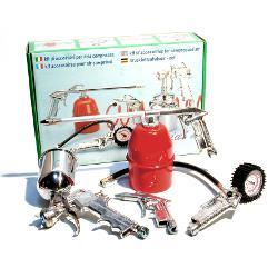 Kit accessori per elettrocompressore disostruente MGF Blitz