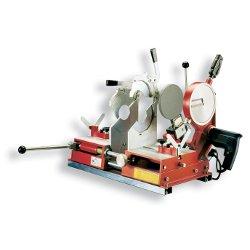Saldatrice testa a testa da banco per tubi da scarico fino a 250 mm