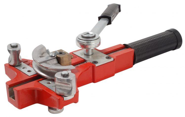 Piegatubi a cricchetto per tubi in rame e acciaio MASTER